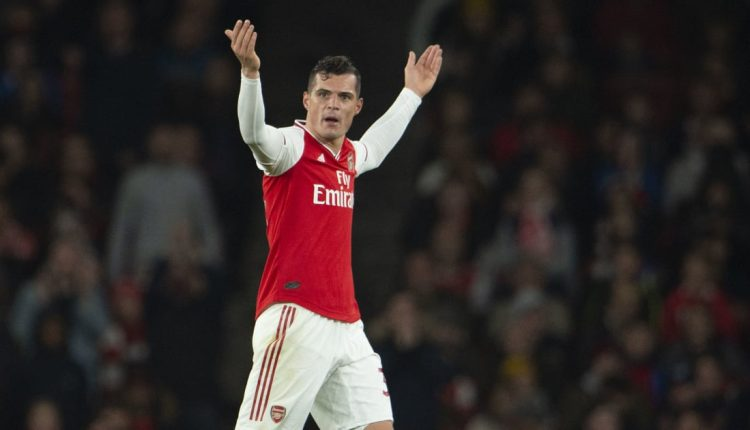 Granit Xhaka Set for January Exit After Being Stripped of Arsenal Captaincy